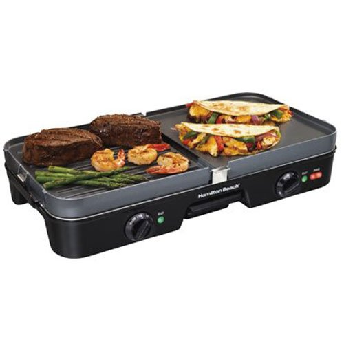 Hamilton Beach 38546 3-in-1 Best Griddle