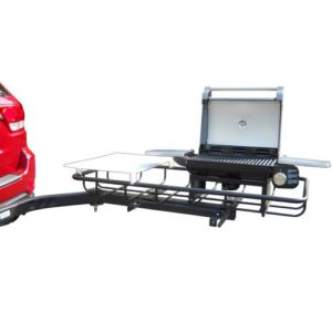 StowAway Hitch Mount Grill for Tailgating